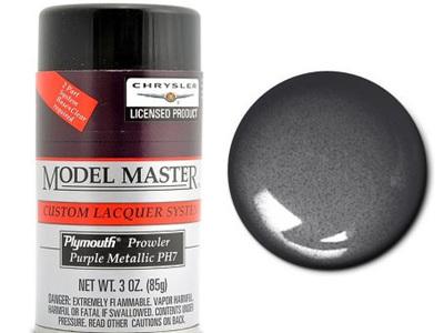 Testors Model Master Automotive Lacquer Plymouth Purple Metallic Spray
