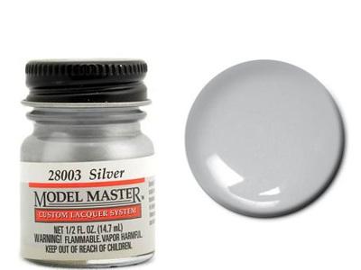 Testors Model Master Automotive Lacquer Silver