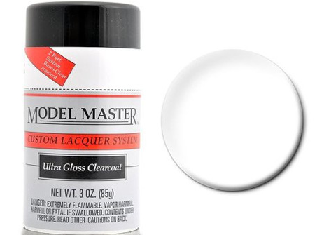 Testors Model Master Automotive Lacquer Ultra Gloss Clearcoat Spray (TES28139)