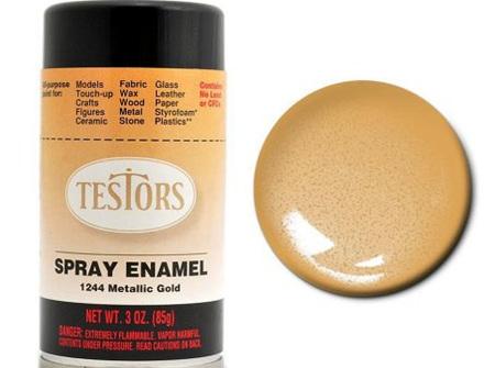 Testors Paint Enamel Gold Spray