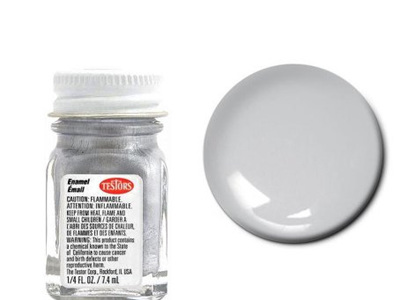 Testors Paint Flat Aluminum All Purpose Enamel