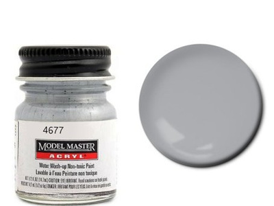 Testors Paint Model Master Acrylic Aluminium
