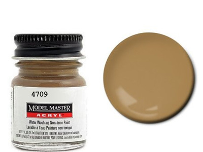Testors Paint Model Master Acrylic Flat Dark Tan FS30219