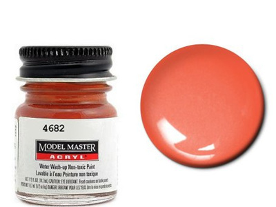 Testors Paint Model Master Acrylic Gloss International Orange FS12197