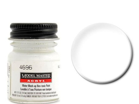 Testors Paint Model Master Acrylic Gloss White
