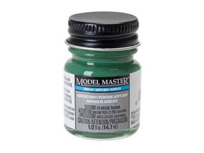 Testors Paint Model Master Acrylic Signal Green