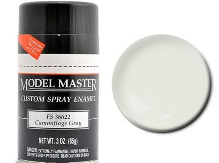 Testors Paint Model Master Enamel Camouflage Gray Spray FS36622