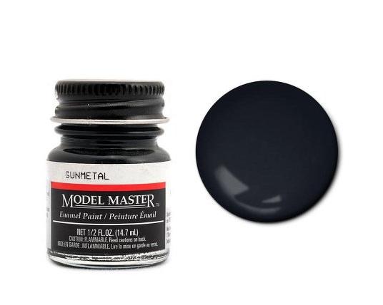 Testors Paint Model Master Enamel Gun Metal FS