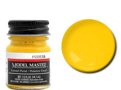 Testors Paint Model Master Enamel Insignia Yellow FS33538