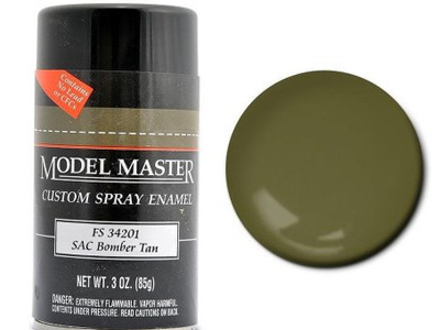 Testors Paint Model Master Enamel SAC Bomber Tan Spray FS34201