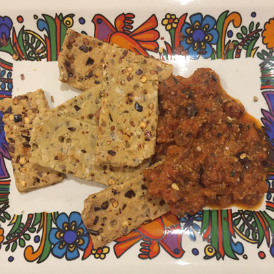 Tex Mex  Crackers and Snackers