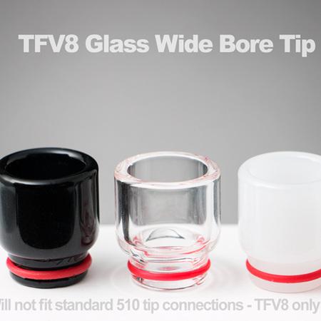 TFV8 Glass Wide Bore Tip