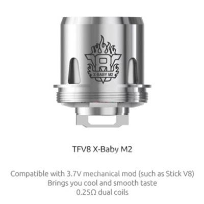SMOK V8 X-Baby - M2 Coils 0.25ohm