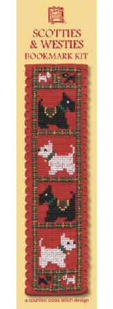 THBKSW   Scotties & Westies Bookmark