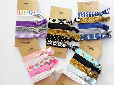 The 5 hair ties pack - version 1