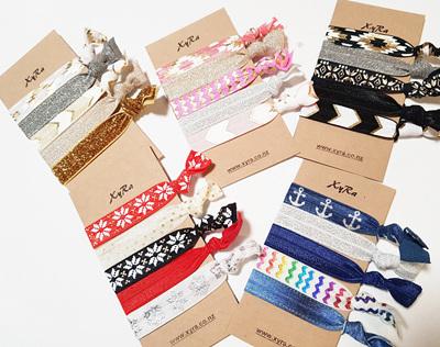 The 5 hair ties pack - version 2