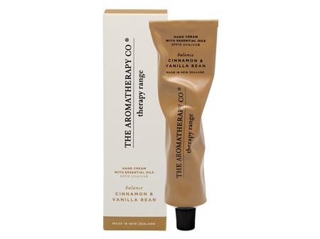 The Aromatherapy Company Cinnamon & Vanilla Bean Hand Cream 75ml