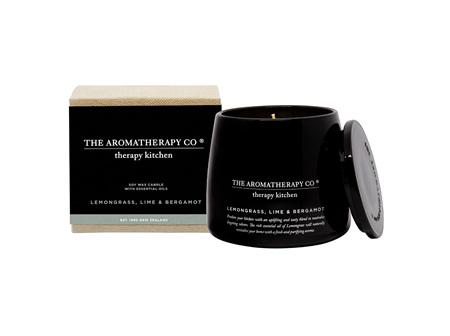 The Aromatherapy Company Lemongrass & Lime & Bergamot Candle 260g