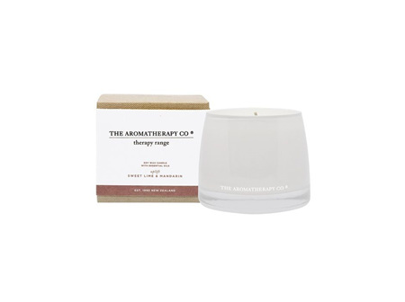 The Aromatherapy Company Lime & Mandarin Candle 260g