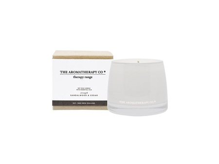 The Aromatherapy Company Sandalwood & Cedar Candle 260g