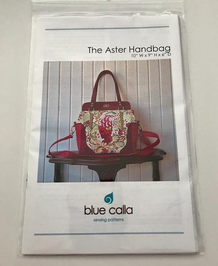The Aster Handbag Pattern