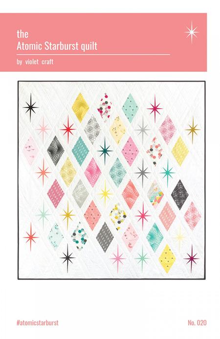 The Atomic Starburst Quilt Pattern