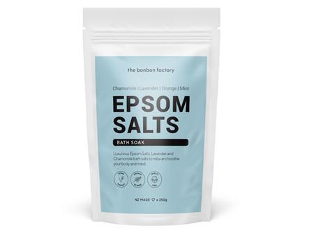 The Bonbon Factory Epsom Salts Bath Soak 250g