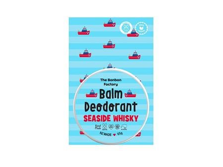 The Bonbon Factory Sea Side Whiskey Deodorant 65g