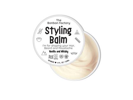 The Bonbon Factory Styling Balm Vanilla & Whisky 120ml