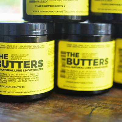 The Butters: All-Natural Lube & Moisturizer