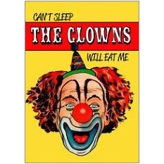 The Clowns Fridge Magnet