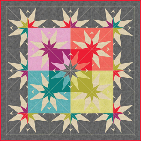 The Country Star Barn Quilt
