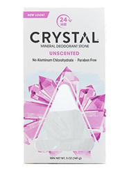The Crystal Mineral Deodorant Stone   Unscented
