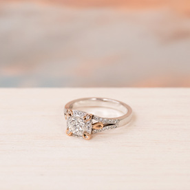 The Decades Collection engagement rings from Inspired by The Village Goldsmith