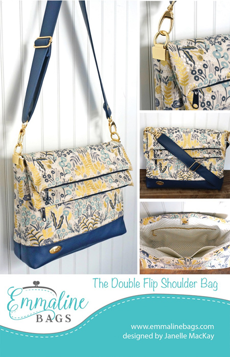 The Double Flip Bag from Emmaline Bags