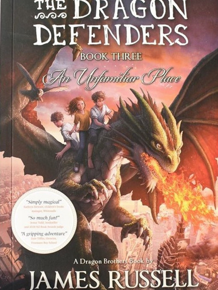 The Dragon Defenders - Book 3
