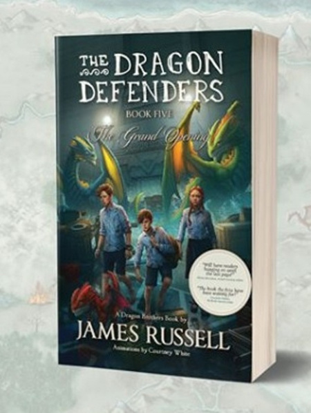 The Dragon Defenders - Book 5