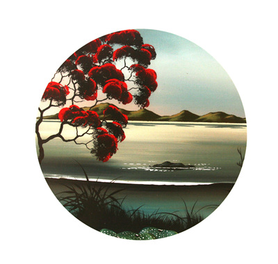 The Dunes Pohutukawa Coastal landscape NZ19