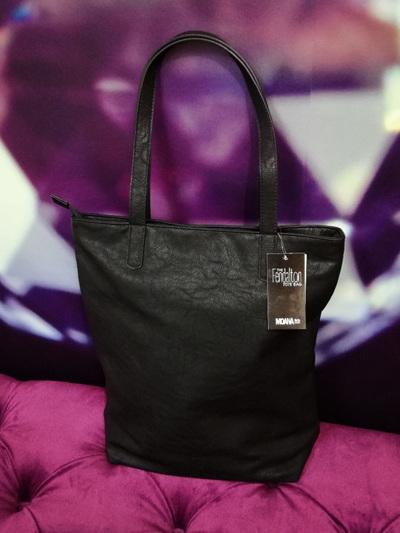 The Fendalton Tote Bag - Black
