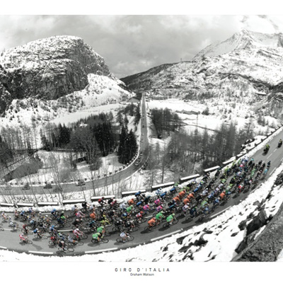 The Galibier - Giro d'Italia