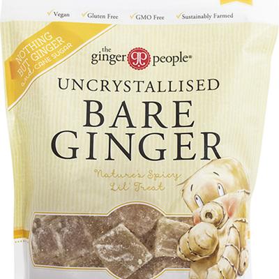The Ginger People Uncrystallised Bare Ginger 200g