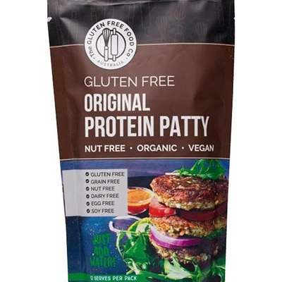 The Gluten Free Food Co Plant Based Protein Patty Original 370g