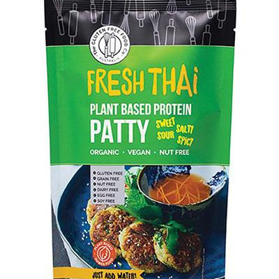 The Gluten Free Food Co Plant Based Protein Patty Fresh Thai 200g