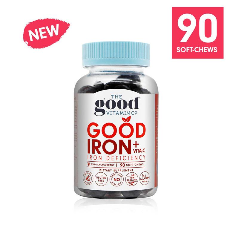 The Good Vitamin Co Good Iron plus Vitamin C