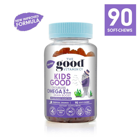 The Good Vitamin Co Kids Omega 3 plus Iron