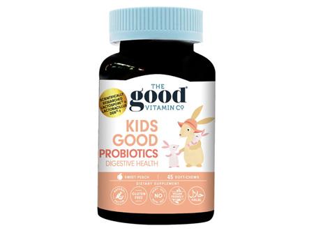 The Good Vitamin Company Kids Good Probiotics Digestive Health Soft Chews 45s