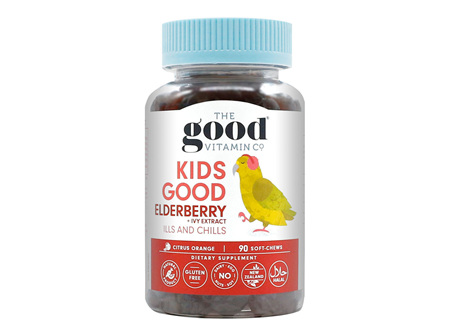THE GOOD VITAMIN KIDS GOOD ELDERBERRY 90 exp: 9/21