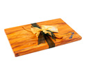 the great nz cheese board and knife set - paua map - heart rimu