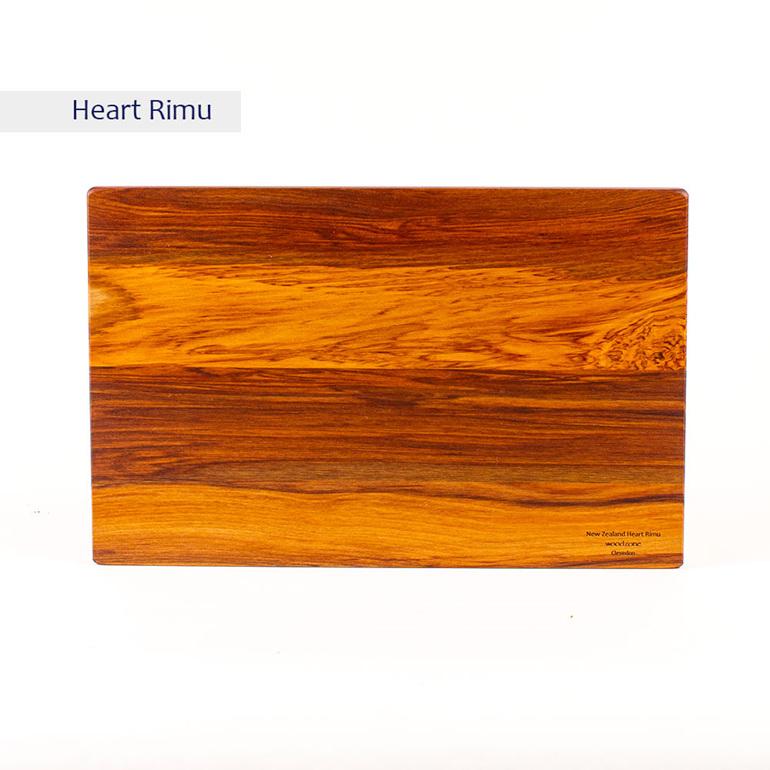 the great nz cheese board - heart rimu