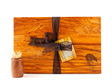 the great nz cheese board  with engraved nz kiwi bird - heart rimu